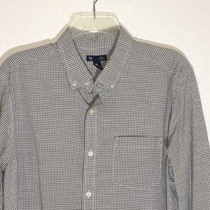 Gap Button Down Long Sleeve Mens Shirt Size L